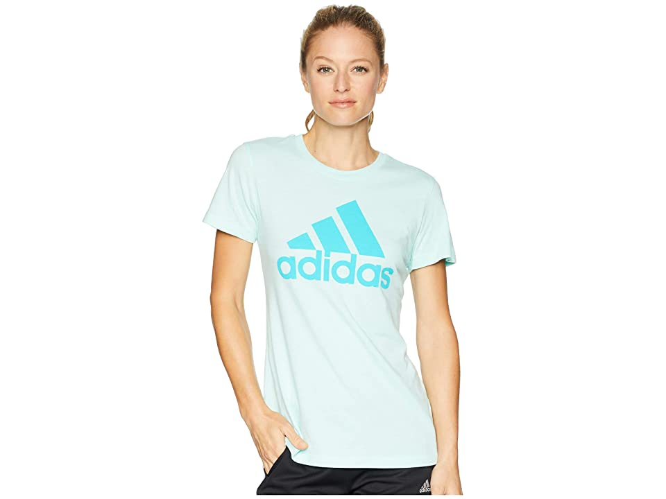 adidas Badge of Sport Tee (Clear Mint) Women