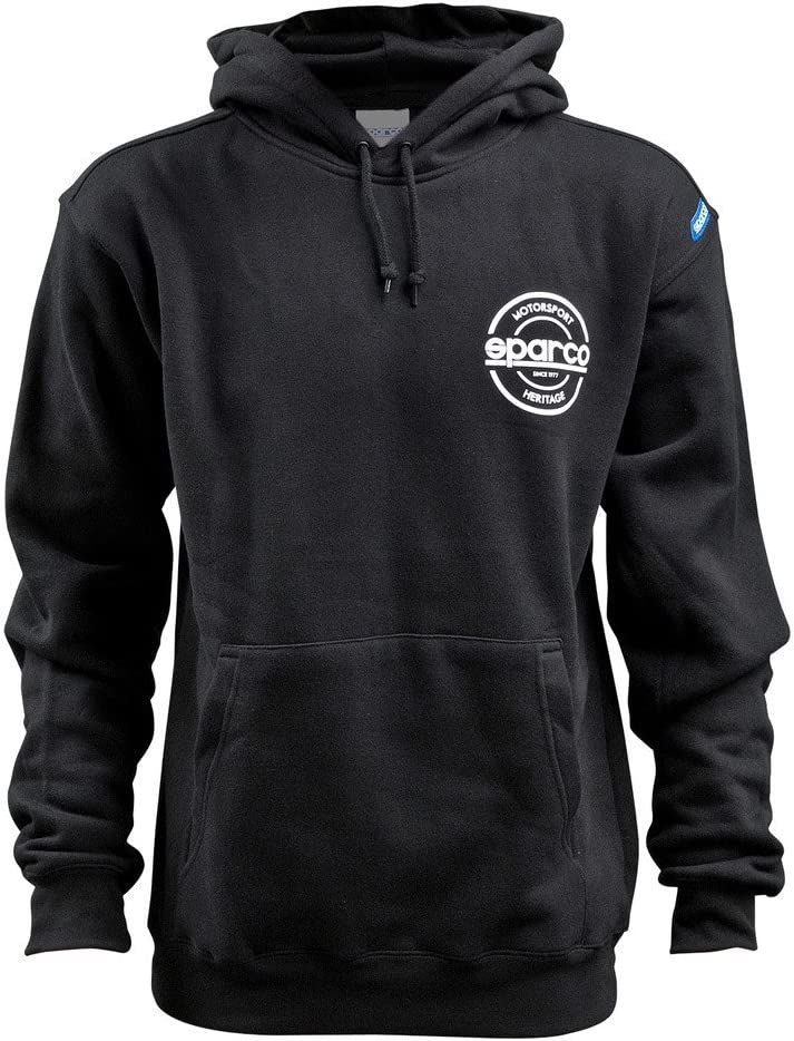 Sparco SP03300NR1S Sweat Shirt Swtshrt Sml S-Seal Spring new work Hooded Blk Seattle Mall