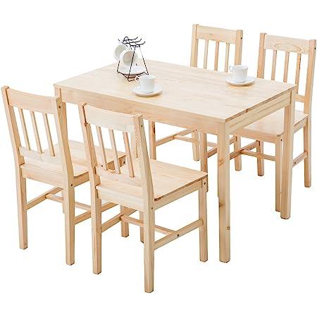 Light Oak Finish Winsome Groveland 3-Piece Wood Dining Set