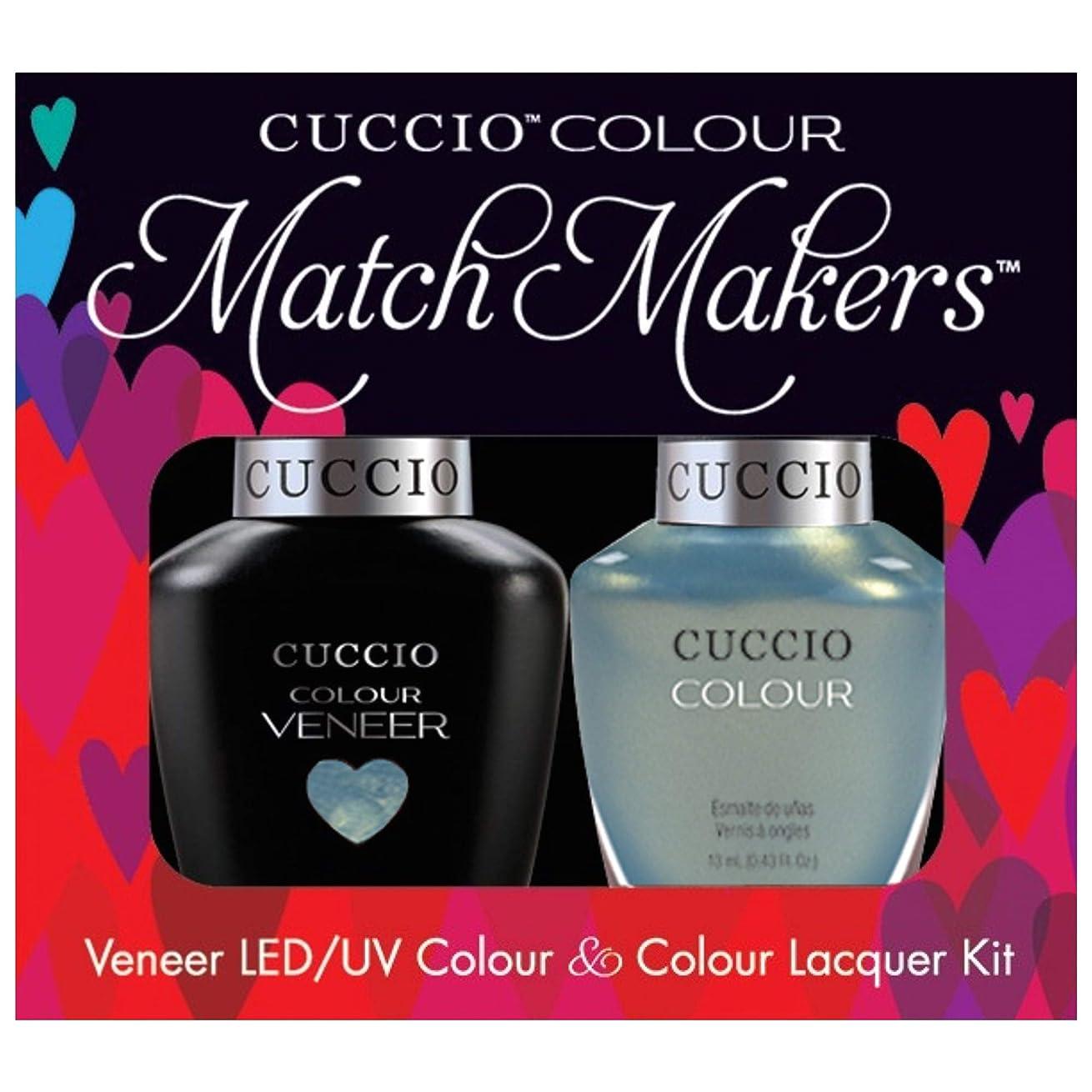 繁栄するチャンスひどくCuccio MatchMakers Veneer & Lacquer - Shore Thing - 0.43oz / 13ml Each