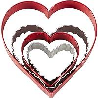 Wilton Nesting Hearts 4-Piece Cookie Cutter Set