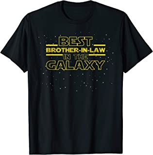 Best Brother in Law Galaxy Shirt Gift for Brother in Law T-Shirt