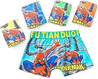 QPM - Calzoncillos para niños (1 unidad), diseño de Spiderman