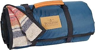 Pendleton Roll-Up Wool Blanket, Vintage Dress Stewart