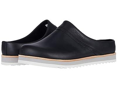 Merrell Juno Clog Leather (Black Leather) Women