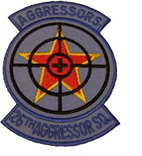 USAF 26th Aggressor Squadron Shoulder Patch - Color - Veteran Owned Business.