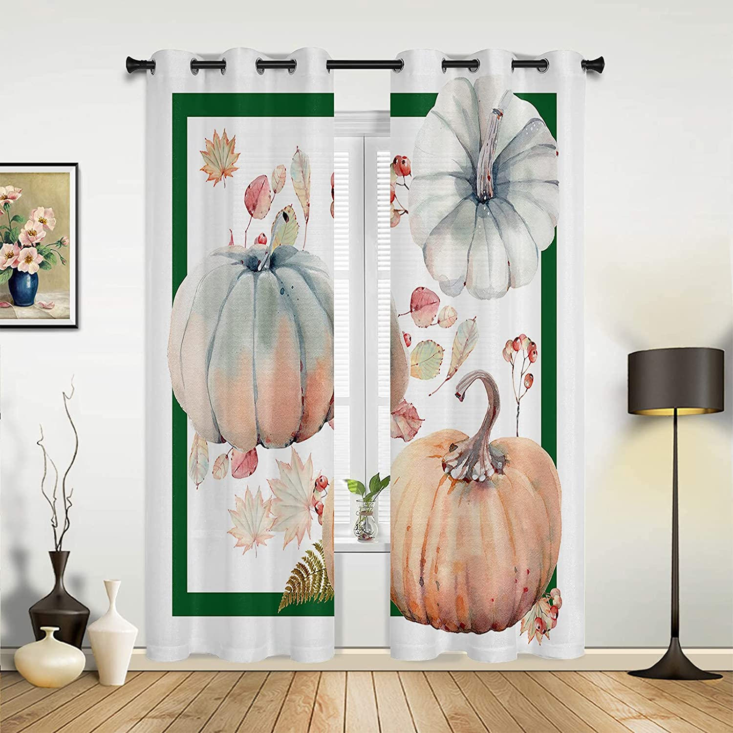 Window Sheer Curtains for Dealing full price reduction Bedroom Room Thanksgiving Living San Francisco Mall Happy