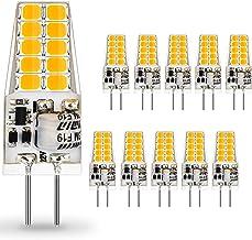 AUTING Led G4 ledlampen, 3.5 W G4 LED-lampen 3000 K Warmwit 400lm, Vervanging Voor 30W Halogeenlampen, Geen Flikkeringen, ...