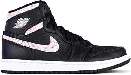 ce679139b22 Nike Air Jordan 1 Retro Prem, Women's Basketball Shoes, Black (Black 001)