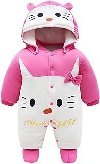 JinBei Pelele de algodón para Bebé,Bebés De Los Muchachos Mameluco Recién Nacido Calentar Juego del Cuerpo Otoño Invierno ...