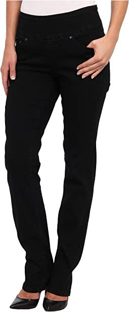 Jag Jeans Peri Pull-On Straight in Black Void