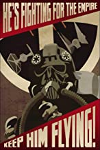 Poly Posters #77 2' x 3' Pop Art Abstract Print Star Wars Propaganda Poster He's Fighting for The Empire Banner Painting Contemporary Artwork