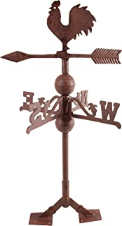 Esschert Design USA WV10 Cast Iron Rooster Weathervane