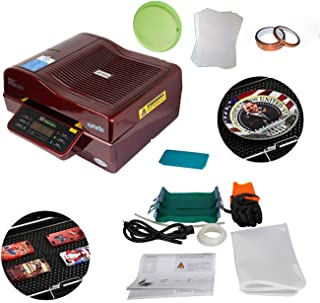 Multi-Functional 3D Vacuum Sublimation Heat Press Machine Kit for Phone Cases Mugs Cups Plates Metal Sheets Printing 110V