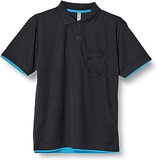 [グリマー] 半袖 4.4オンス ドライ レイヤード ポロシャツ [ポケット付] 00339-AYP
