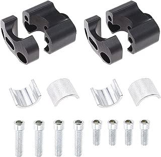 Lergo 7//20,3/cm universale moto manubrio in alluminio CNC maniglia mano Grips bar ends