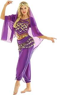 2b78b4298 Amazon.es: Disfraz De Danza Arabe - Morado