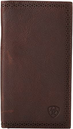 Ariat - Ariat Shield Perforated Edge Rodeo Wallet