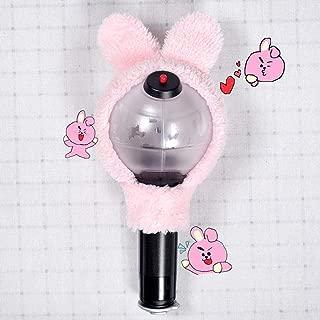 Teblacker BTS Lightstick Cover, Kpop Bangtan Boys Kawaii Limited Concert Lamp Army Bomb Light Stick Case for The Army(Cooky)
