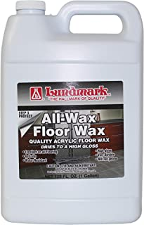 Lundmark All Wax, Self Polishing Floor Wax, 1-Gallon, 3201G01-2