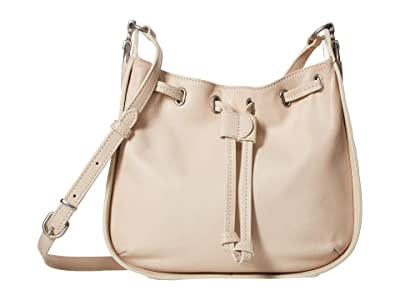 Frye Ilana Small Crossbody (White) Cross Body Handbags