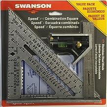 Swanson Tool S0101CB Escuadra Rápida con Libro y Escuadra