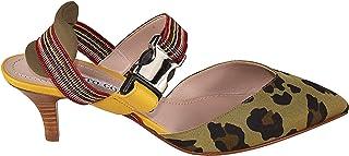 ALBERTO GOZZI Women's DORINALEO Beige Leather Heels