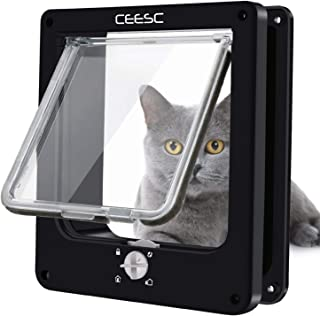weatherproof cat door