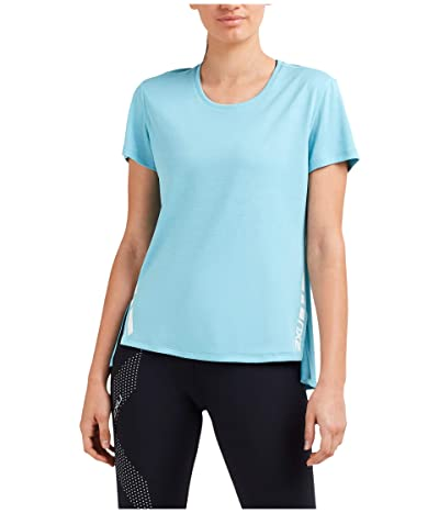 2XU XVENT G2 Short Sleeve Tee (Bluejay/White Reflective) Women