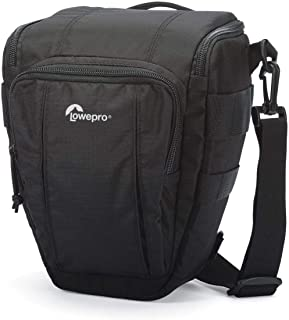 Lowepro Toploader Zoom 50 AW II Camera Case for DSLR and Lens, Black