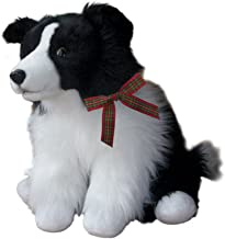 Robbie The Border Collie Dog sheepdog Cuddly Soft Plush Toy 16