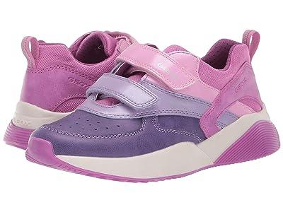 Geox Kids Jr Sinead 1 (Little Kid/Big Kid) (Fuchsia/Violet) Girls Shoes