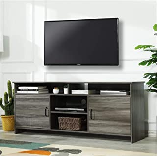 Living Room TV Console Desk Solid Wood TV Cabinet Classic Modern Design TV Cabinet Living Room TV Cabinet Annacboy (Color ...