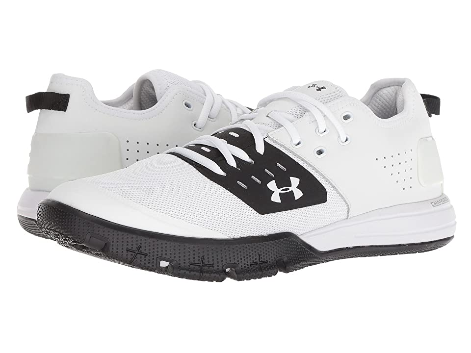 Under Armour UA Charged Ultimate 3.0 (White/Black/White) Men