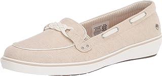 حذاء نسائي من الكتان ذو عقدة وندسور باللون الفضي الطبيعي، 5 W US من متجر Grasshoppers