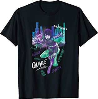Marvel Rising Secret Warriors Quake Graffiti T-Shirt