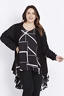 Beme Long Sleeve Knit Bomber Jacket - Womens Plus Size Curvy