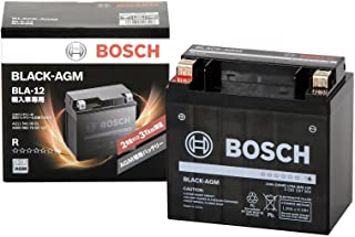 BOSCH (ボッシュ)ブラック-AGM 輸入車補機バッテリー BLA-12