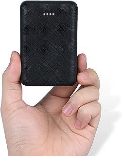 POSUGEAR 10 000 mAh powerbank liten men stark, med 2 USB-utgångar 5 V mini externt batteri, bärbar laddare för mobiltelefo...