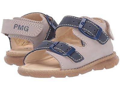 Primigi Kids PPD 34126 (Toddler) (Beige/Blue) Boy