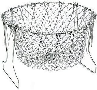 Best folding frying basket Reviews