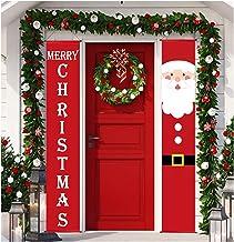 Christmas Decoration, Christmas Porch Sign, HOME-MART Merry Christmas Decoration Banner,Home Outdoor Porch Sign for Xmas H...