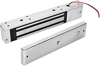 Fechadura magnética de porta, DC 12V Fechadura eletromagnética prática profissional para porta de madeira de metal
