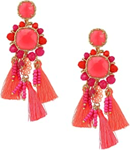 Lilly Pulitzer - Island Exotic Tassel Earrings