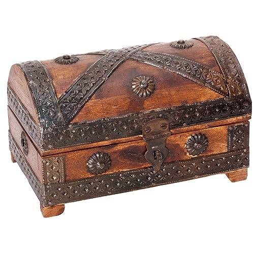 Commode en bois pour trésor de pirate, mini | Pirate coffre au trésor, mini