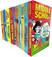 James patterson middle school series 10 books collection set