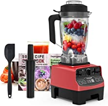 Homgeek Professional Blender, Countertop Blender 1450W, High Power Blender with High..