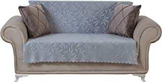 Chiara Rose Couch Covers for Dogs Sofa Cushion Slipcover 3 Seater Furniture Protectors Futon Cover, Loveseat, Acacia Grey