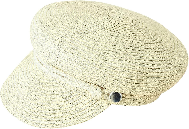 Toddler Kids Ladies Children Sun Parent-Child Hat Summer Weave Berets Outdoor