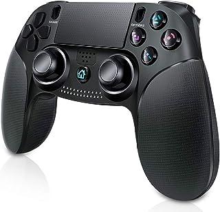 【2020最新版】PS4 コントローラー 無線 playstation 4 コントローラー PC Bluetooth接続 最新版システム対応 AROMUJOY 振動機能 PS4対応 PS3対応 PC対応 タッチボタン タッチパッド イヤホンジャ...